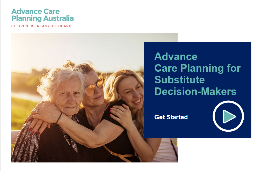 Advance Care Planning  Substitute Decision-Makers image